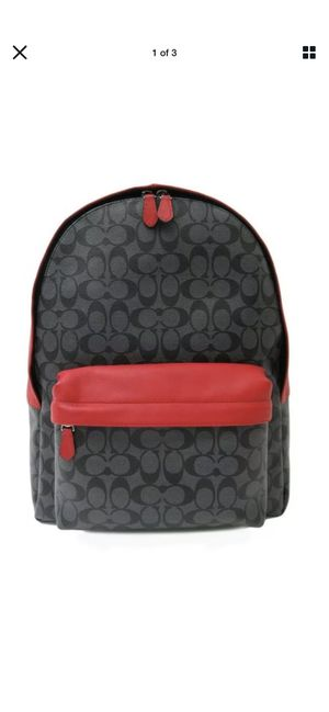 Men's COACH CAMPUS BACKPACK IN SIGNATURE (COACH F71973) Men's Backpack 🎒 for Sale in Tustin, CA