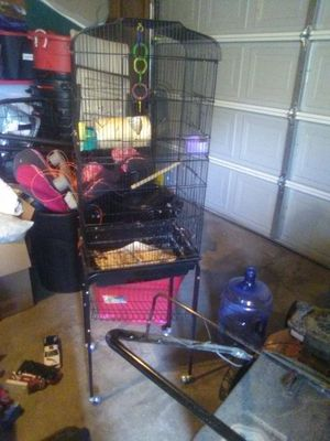 $50 bird cage needs cleaned in Delano for Sale in Delano, CA