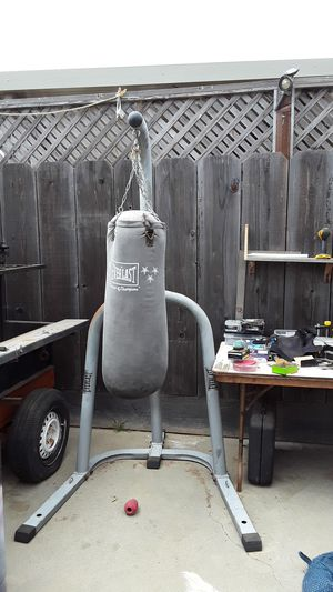 Punching bag and Stand no shipping for Sale in Salinas, CA