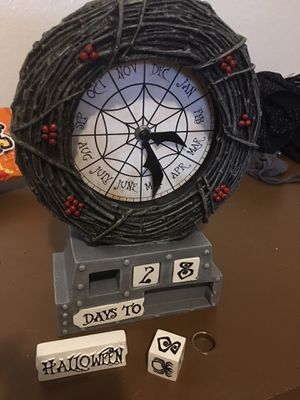 Disney The Nightmare Before Christmas Table Clock for Sale in Lewis McChord, WA