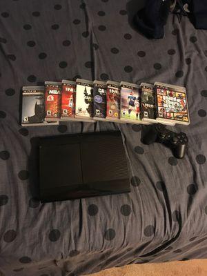 PS3 Console Including Games for Sale in Morton Grove, IL