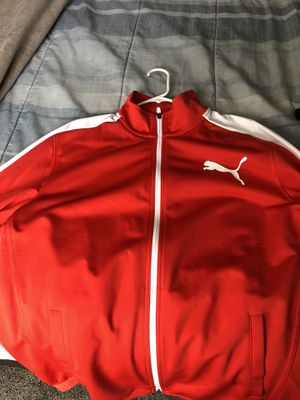 Red XL PUMA jacket for Sale in Lawrenceville, GA