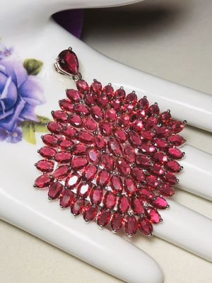 Sterling Silver.925 Pink Tourmaline Pendant for Sale in Santee, CA