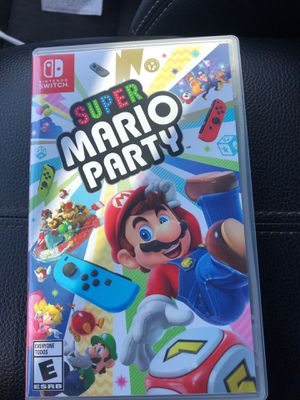 Super mario party nintendo switch game for Sale in Riverbank, CA