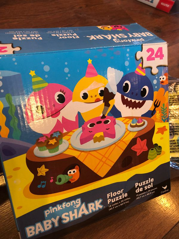 Baby shark floor puzzle - 24 large pieces