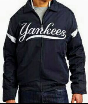 Official New York Yankees MLB Bomber Jacket - Large for Sale in Brooklyn, NY