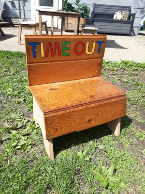 Kids Time Out Chair. So cute! for Sale in Joliet, IL