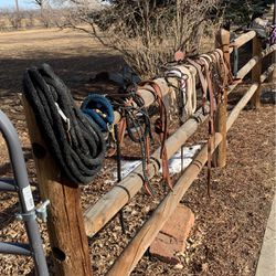 Miscellaneous horse tack, breast Harnesses, halters, lead ropes, lunge lines etc. for Sale in Longmont,  CO