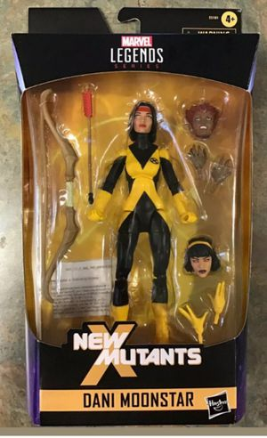 Exclusive Marvel Legends X-Men New Mutants Dani Moonstar Collectible Action Figure Toy for Sale in Chicago, IL