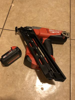 Milwaukee M18 Nails 15 ha new for Sale in Tucson, AZ