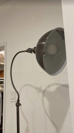 Industrial grey lamp for Sale in Santa Monica, CA