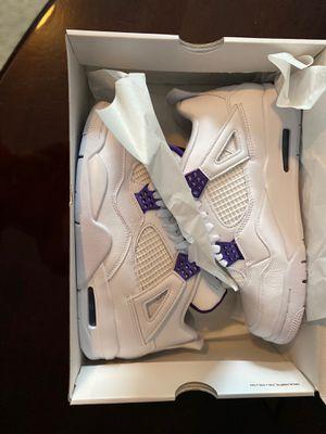 Metallic Purple Jordan 4- Size 8.5 for Sale in Mableton, GA