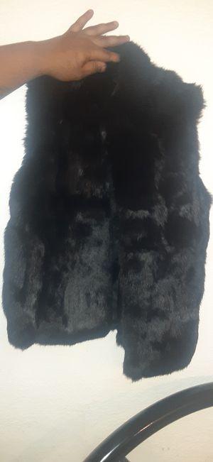 %100 rabbit fur vest made in Korea for Sale in Fremont, CA
