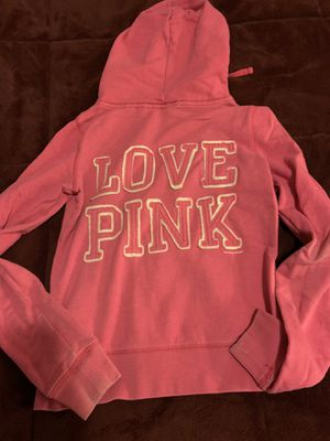 VS PINK zip up hoodie size M for Sale in Martinsburg, WV