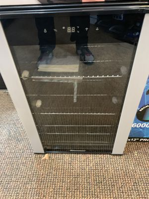 Wine refrigerator beverage refrigerator for Sale in Modesto, CA