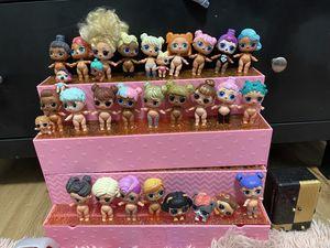 30 LOL Dolls + 100 Accessories for Sale in Vancouver, WA