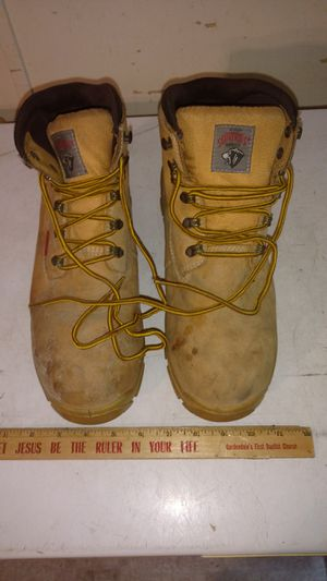 Herman survivor mens big timber mans STEEL TOE work boots. for Sale in Rincon, GA