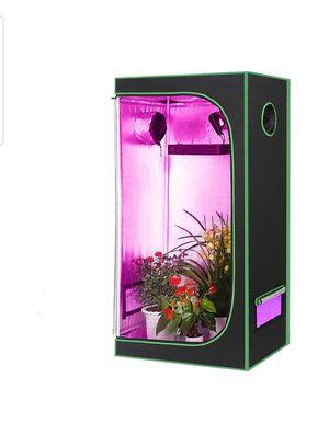 Hydroponic Mylar Grow Tent Reflective Garden Growing Room (Green-24''x24''x48'') for Sale in Garden Grove, CA