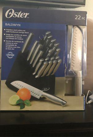 22 PC Knife Set for Sale in Arlington, TX