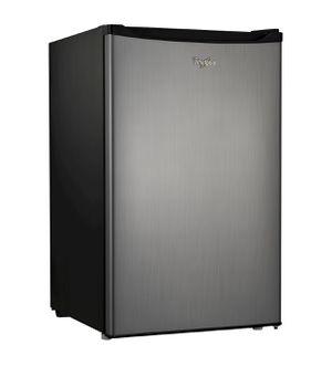 Whirlpool 4.3 cu ft Mini Refrigerator - Stainless Steel BC-127B for Sale in Chillum, MD