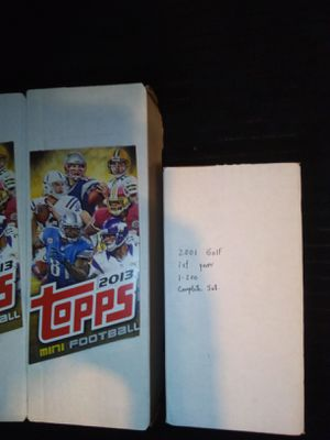 Good Deal! Football, Baseball Cards $20 to $25 A Box. for Sale in Denver, CO