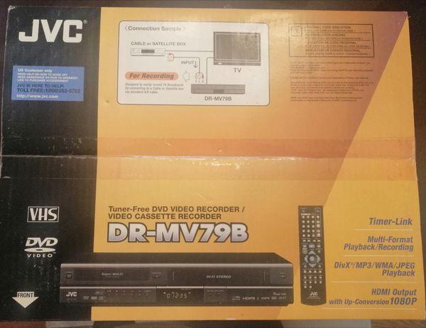 New Tuner-free DVD Video recorder / video cassette recorder