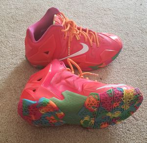 Nike Lebron 11 Fruity Pebbles - Size 4.5y for Sale in Ijamsville, MD