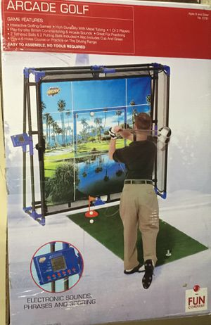 FUN COMPANY ARCADE GOLF ELECTRONIC SIMULATOR GAME 5791 MOOSE MOUNTAIN for Sale in Streamwood, IL