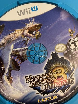 Monster Hunter Wii U Nintendo video game disc for Sale in American Canyon, CA