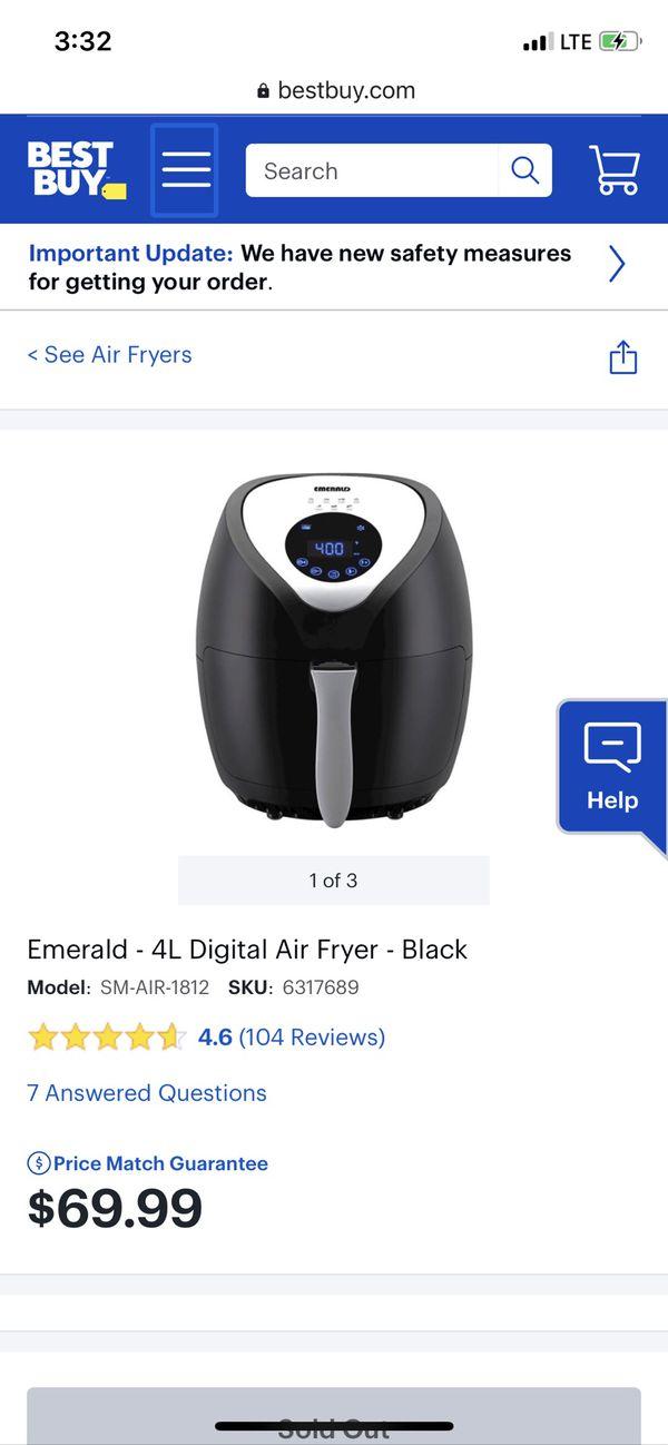 Emerald 4L Air Fryer