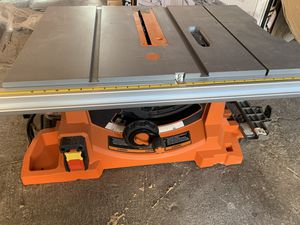 Rigid table saw with stand for Sale in Las Vegas, NV