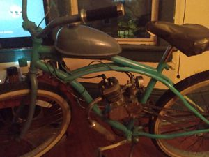 Bike and engine works 180 or best offer for Sale in Bloomington, IL