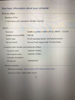 Microsoft Surface Pro 3 256Gb Tablet for Sale in St. Petersburg, FL