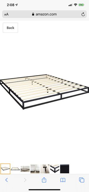King Low Bed Frame for Sale in Pleasanton, CA