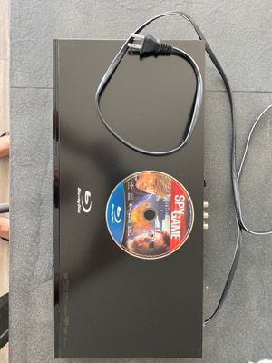 Samsung Blue-ray Disc, DVD, and CD Player (Mint) with Remote for Sale in Vienna, VA