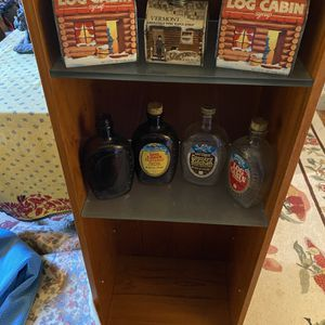Collection Log Cabin Maple Syrup Tins and Bottles for Sale in Suffolk, VA