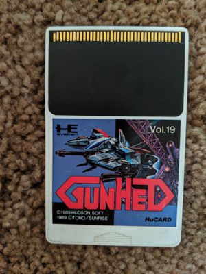 Blazing Lazers Gunhed PC Engine TurboGrafx 16 for Sale in Los Angeles, CA