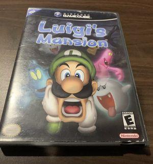 Luigi's Mansion (Nintendo GameCube, 2001) - VG for Sale in Lowellville, OH