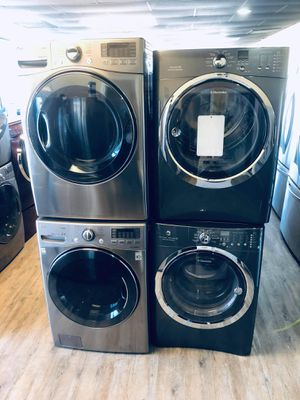 Stainless steel Washer and dryer set for Sale in Los Angeles, CA