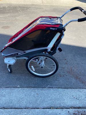 Chariot Cougar Bike Trailer Convertible to Jogger/Stroller for Sale in Auburn, WA