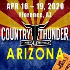 Country Thunder 2020 4 Day Passes $150 for Sale in Tucson, AZ