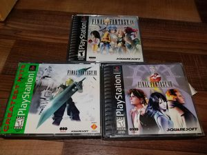 playstation final fantasy games for Sale in Chesapeake, VA