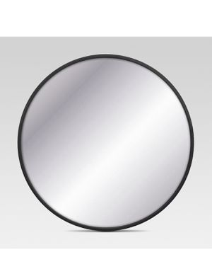 Project 62 decorative circular wall Mirror black frame for Sale in Vancouver, WA