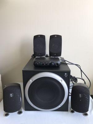 Logitech Z-560 THX Certified 4.1 Speaker System for Sale in Chicago, IL