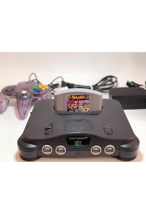Nintendo N64 with Super Smash Bros for Sale in Austin, TX