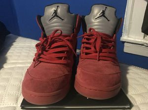air jordan red suede fives for Sale in New York, NY