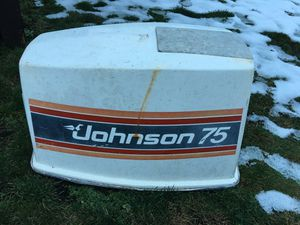 Johnson outboard cover for Sale in Camano, WA