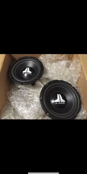 2 JL Audio 8W6 for sale with free box for Sale in Pasadena, CA