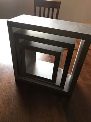 Square wall shelves for Sale in Charlotte, NC