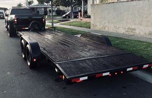 20 FT CAR TRAILER FOR SALE/R E N T for Sale in Lawndale, CA